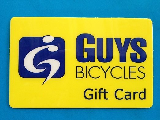 Guy's Bicycles Gift Card