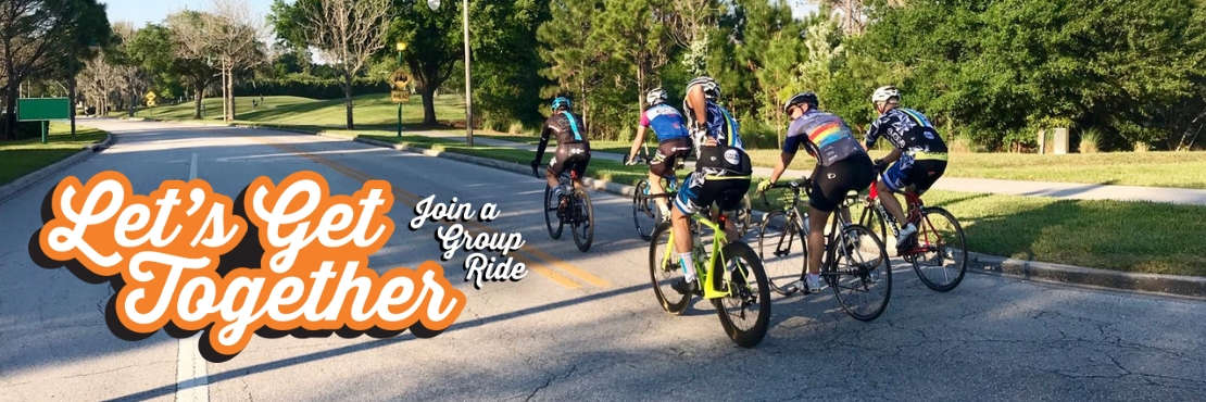 Join a Group Bike Ride