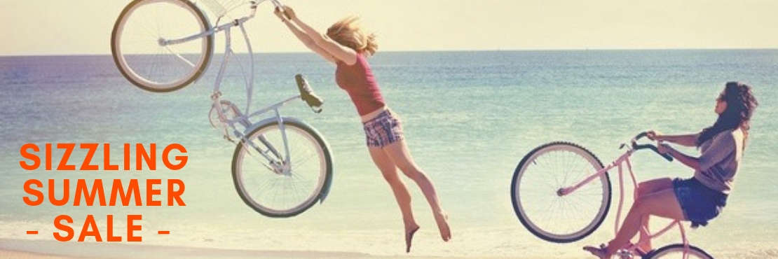 Sizzing Summer Sale on Bikes, Electronics, Apparel & More