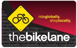 The Bike Lane Gift Certificates
