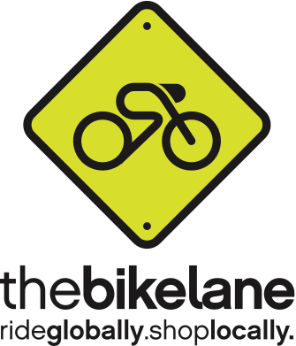 the bike lane, ride globally. shop locally