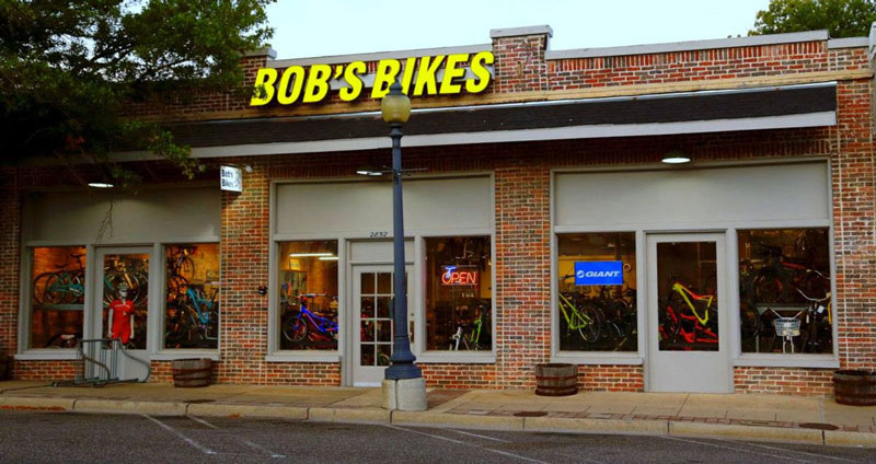 Bob's Bikes Storefront