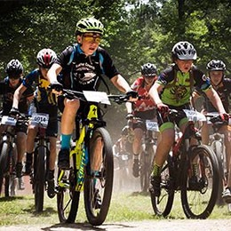 Youth Mountain Bike race