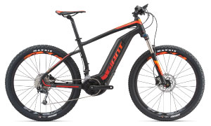 Image of Giant electric mountain bike