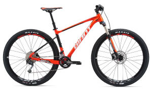 Image of Giant Front Suspension Mountain Bike