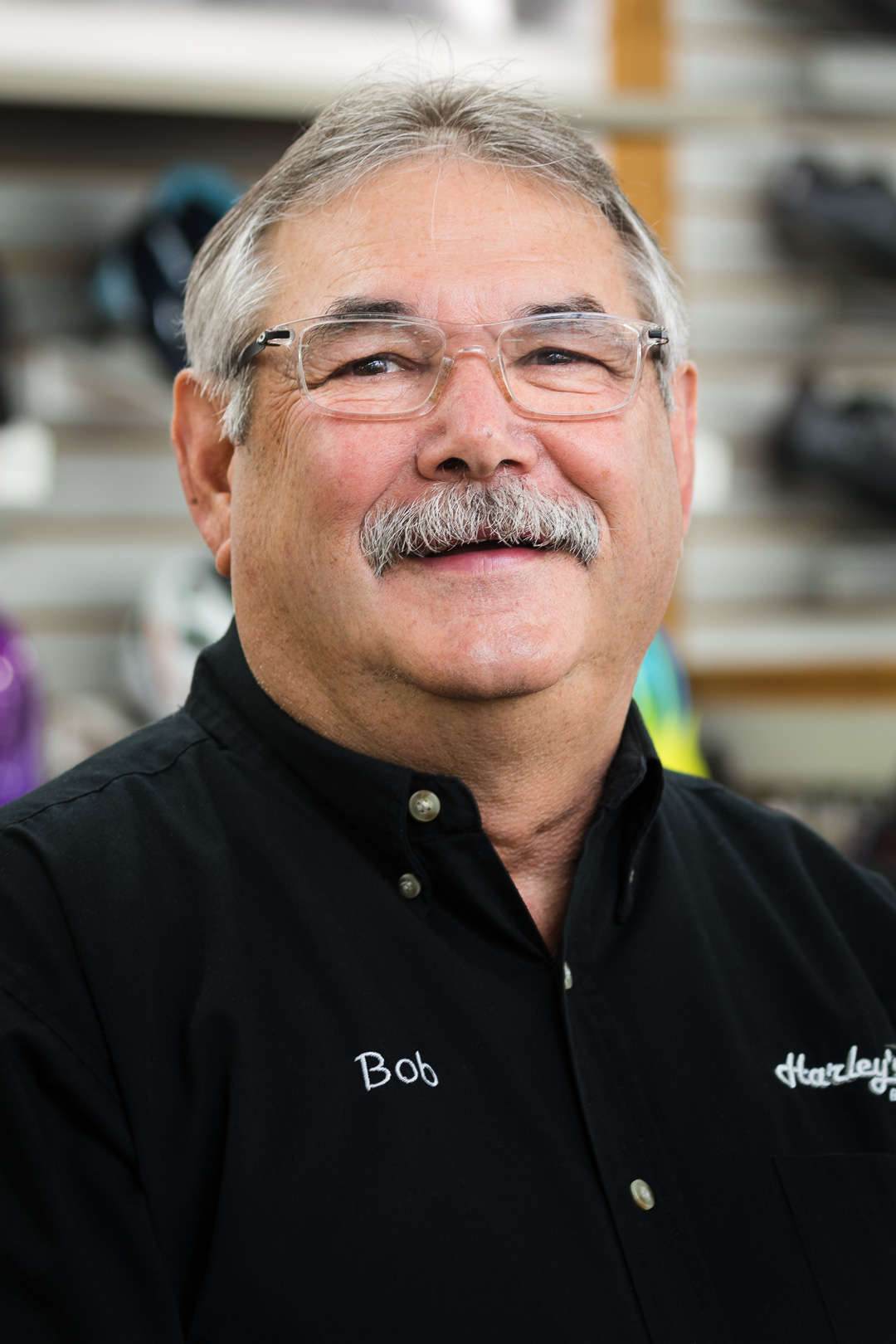 Bob - owner of Harley's