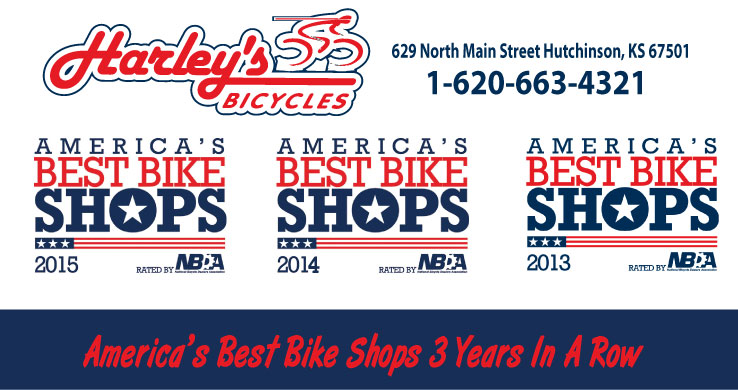 Voted America's Best Bike Shop 3 years in a row!