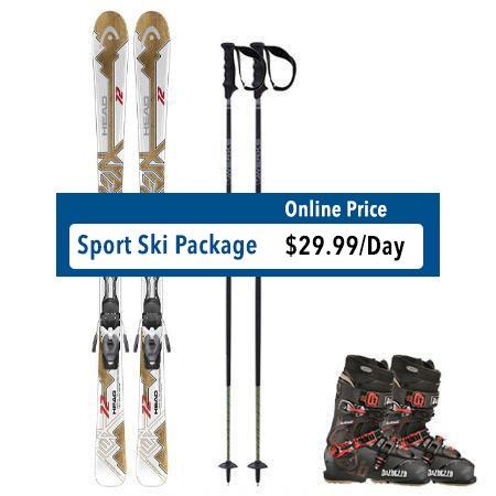 Sport Ski Rental Package Steamboat Springs