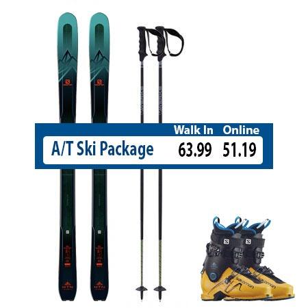 Demo Ski Rental Package Steamboat Springs