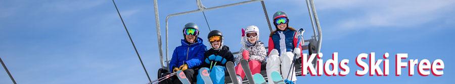 Kids Free Ski Rental Package Steamboat Springs