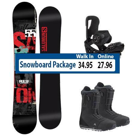 Steamboat Snowboard Rental Package