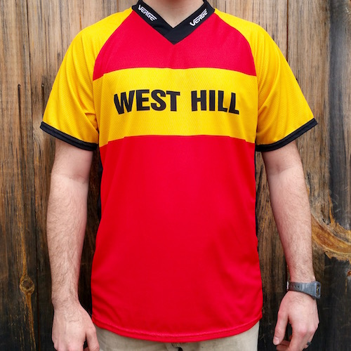 Verge West Hill Free Ride Jersey