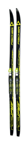 Fischer Sprint Crown Junior IFP Mounted Skis