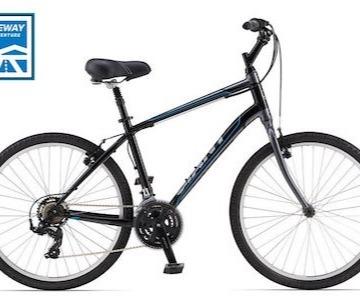 Rent Comfort Hybrid Bikes - Putney, VT