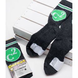 C2 Wool Logo Socks