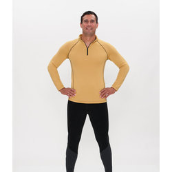 C2 Elite Half Zip Power Wool Men's