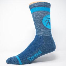 DeFeet Defeet Custom WHS 50/50 Wool Comp Socks Sapphire
