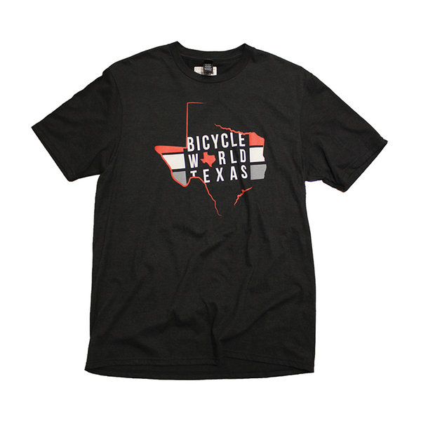 Bicycle World Texas Stripe Tee