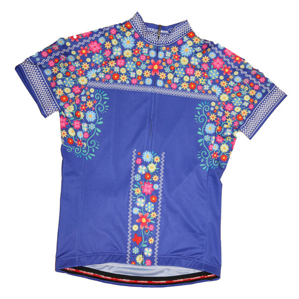 Bicycle World Oaxaca Flower Jersey