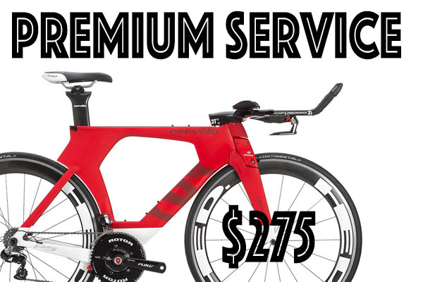 Bicycle World IRONMAN® Premium Service