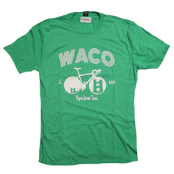 Bicycle World Waco Suspension Bridge Bike Tee