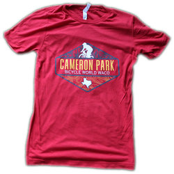 Bicycle World Bicycle World Waco Cameron Park Trail Map Shirt