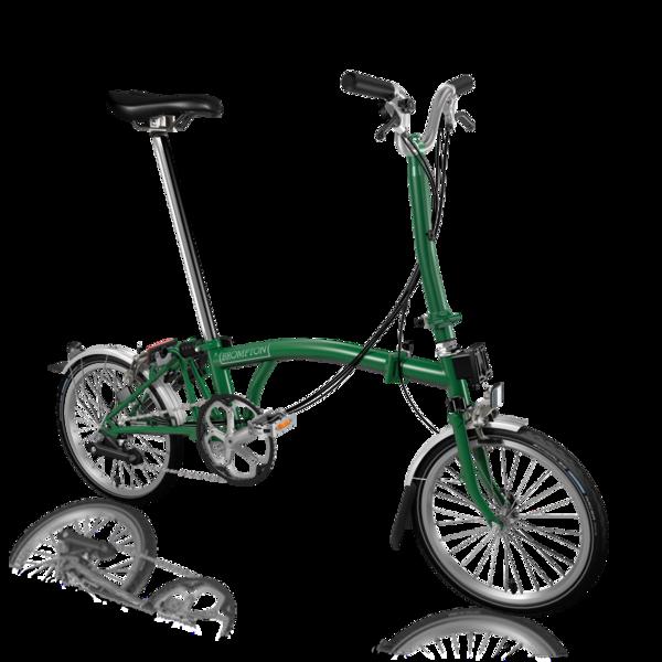 Brompton H6L/Racing Green