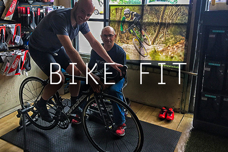 Fitting your new bike makes you faster and more comfortable.