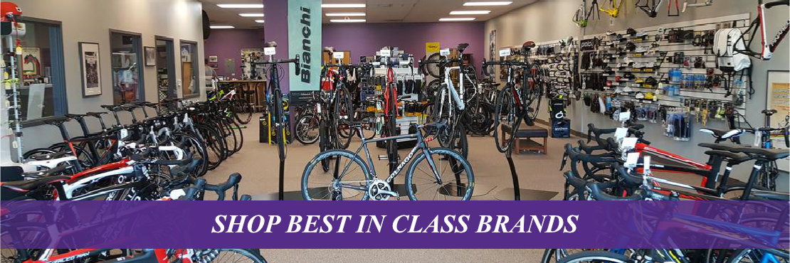 Shop Best In Class Bike Brands at The Velo Shop