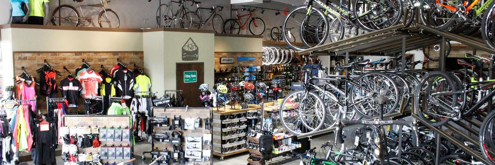 Society Cycle Works Showroom Floor!