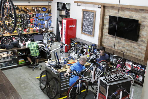 Society Cycle Works Bike Repair Center