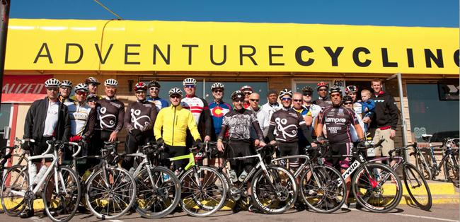 Adventure Cycling store front