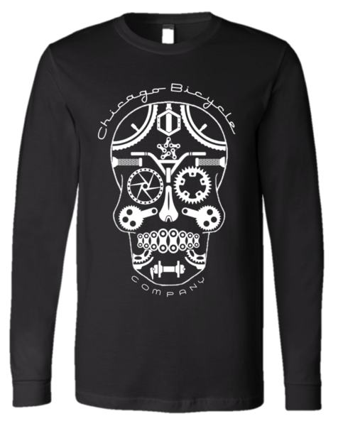 Chicago Bicycle Company Long Sleeve Skully