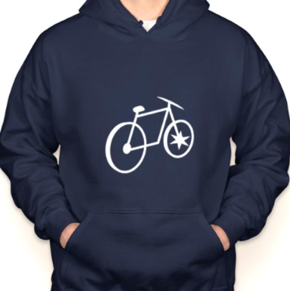 Chicago Bicycle Company CBC Bike & Bean Hoodie