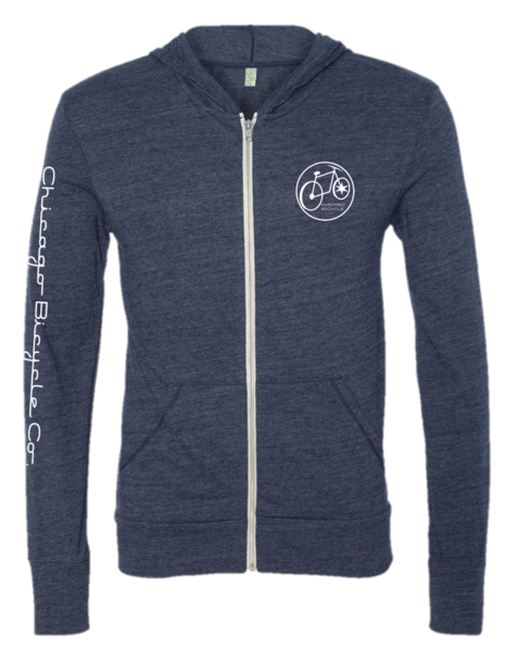 Chicago Bicycle Company Chicago Bicycle Full Zip Hoodie