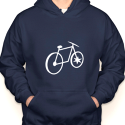 Chicago Bicycle Company CBC Bike & Bean Hoodie