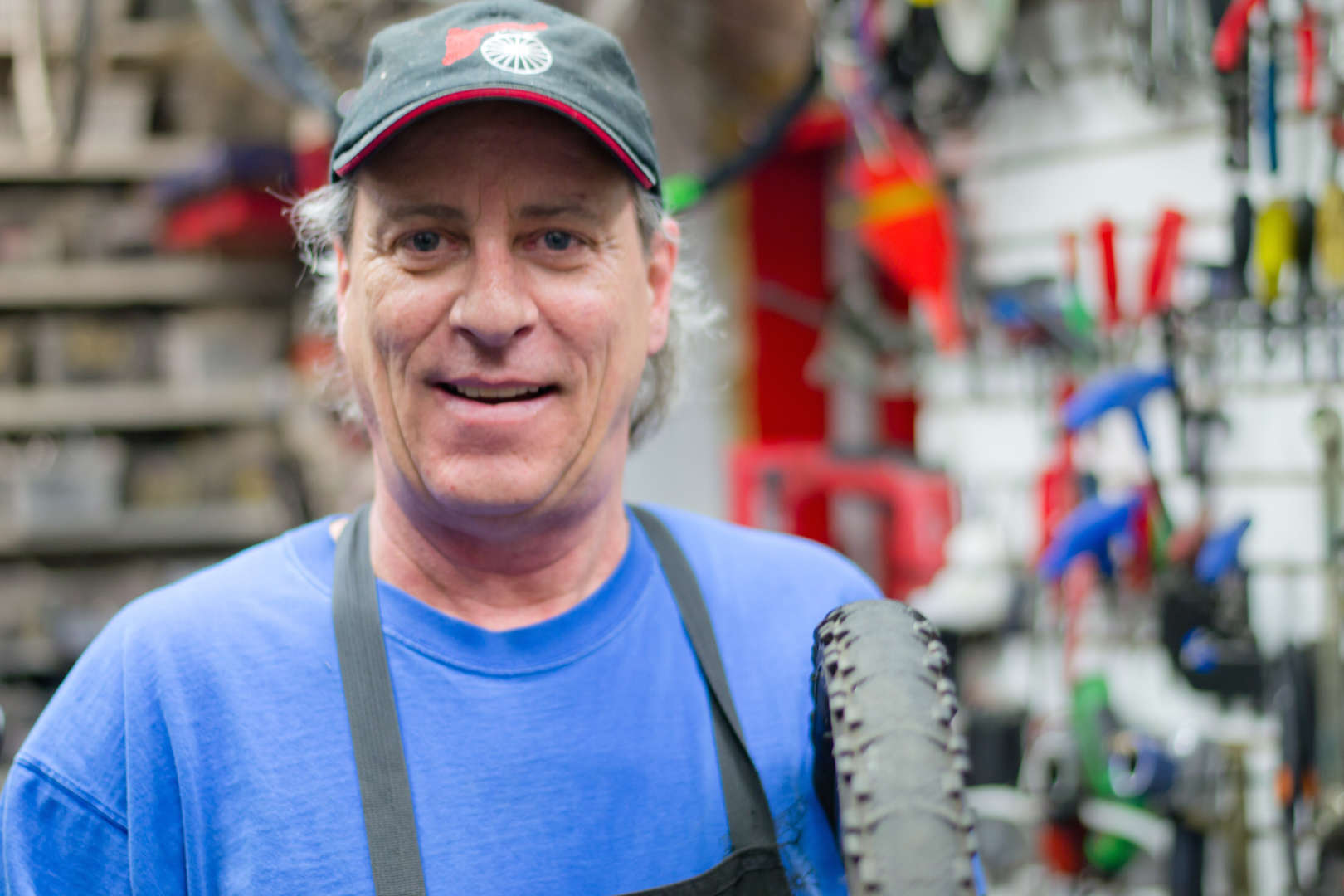 Gordy - Freewheeler Bike Shop Founder