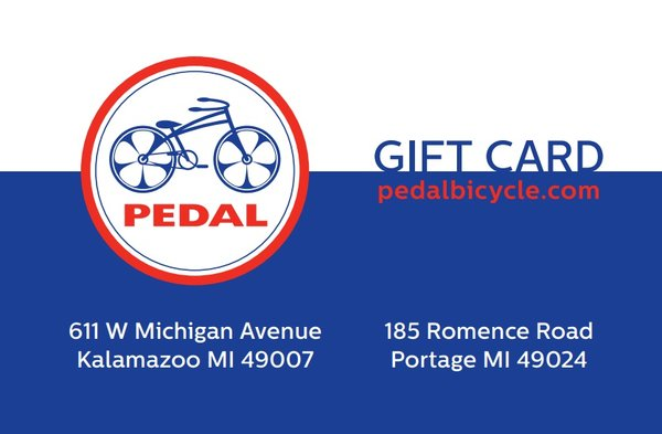 PEDAL Gift Card