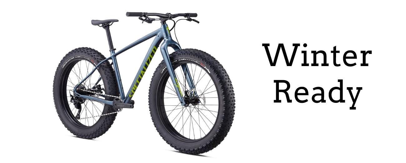 winter fat bike yukon fat boy specialized giant
