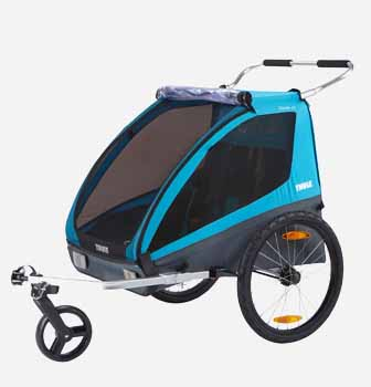 children kids bike stroller trailer thule weehoo