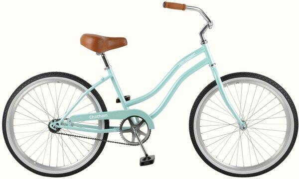 "Retrospec Chatham 24"" Kids Beach Cruiser Bike Step-thru"