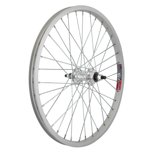 Wheel Master WHL RR 20x1.75 406x19 ALY SL 36 ALY FW 1sp 3/8 SL 110mm 14gUCP Color: Silver