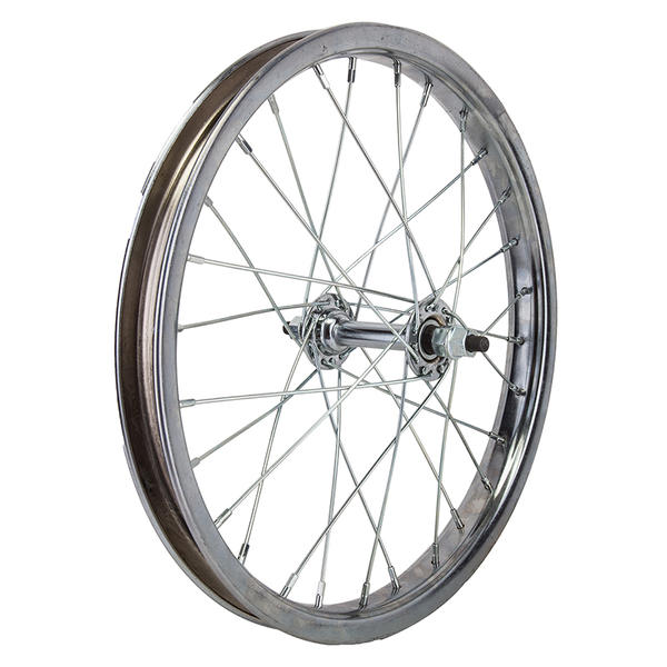 "Wheel Master 16"" Front Wheel Steel Color: CP"