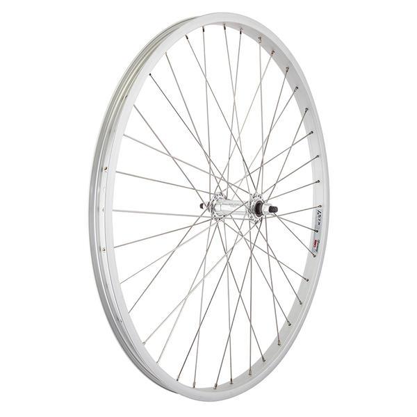 "Wheel Master Wheel- Front 26"" Alloy Silver 1.75/2.125"