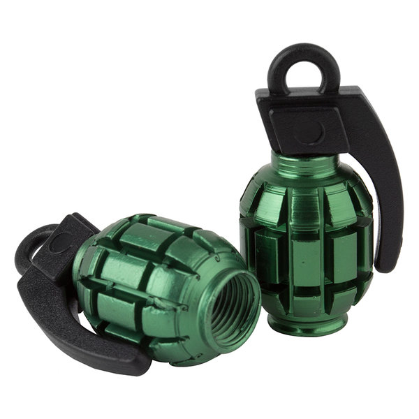 Black Ops VALVE CAPS BK-OPS GRENADE Color: Green