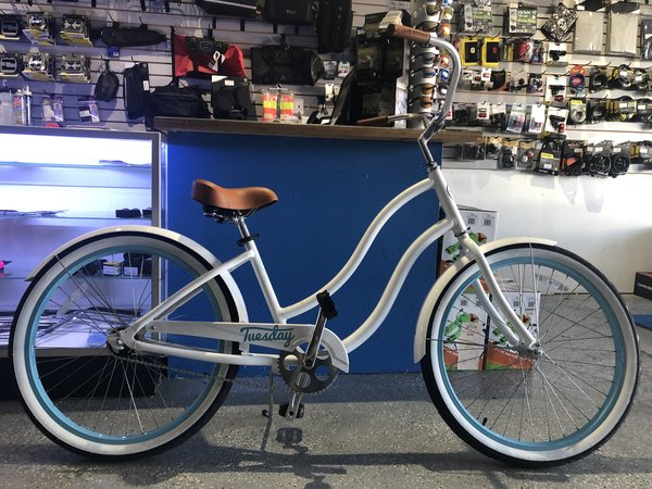 Used Bike Used Tuesday August 1 Glacier White