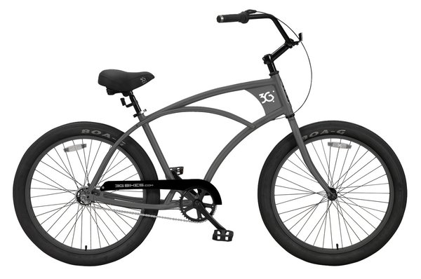3G Bikes Newport 3 Speed Deluxe