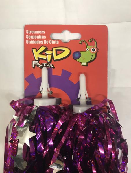 Kent International Kid Factor Pink & Star Streamers
