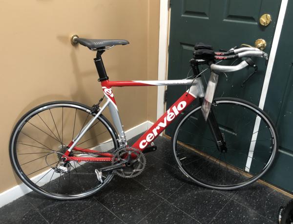 Cervelo Used Cervelo P1 Ultegra Tri bike 54cm