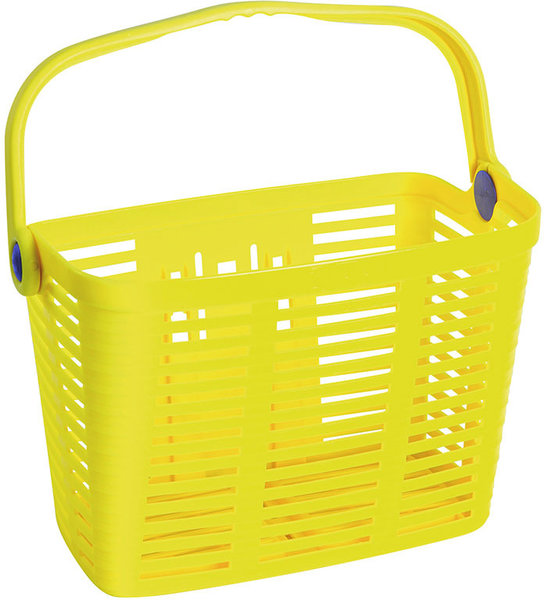 Bellelli Biria plaza plastic basket Color: Yellow HI-VIZ